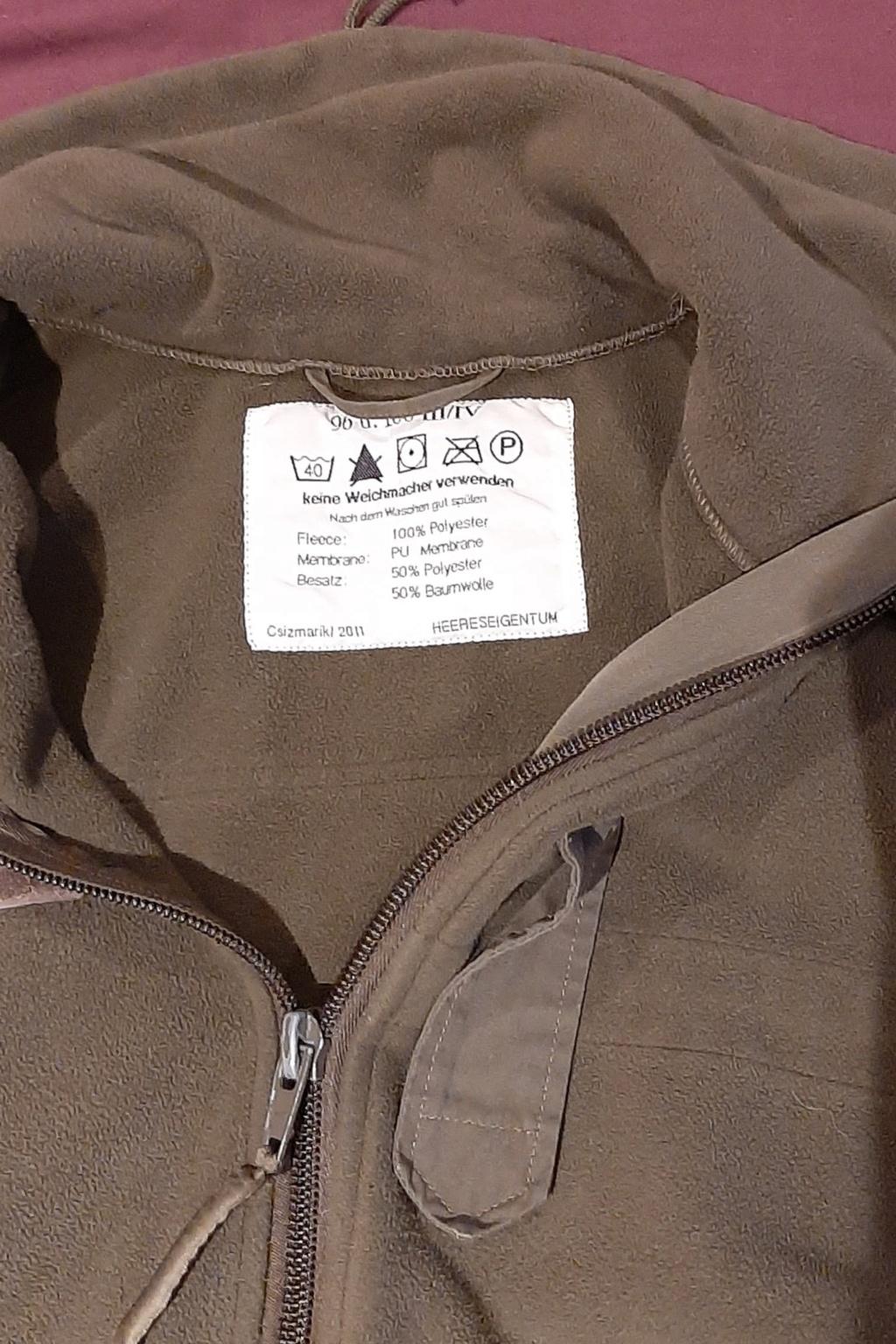BCB Austrian Army type fleece review 20210118