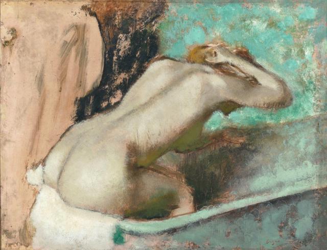 Degas - une vénus hygiénique. Edgar-11