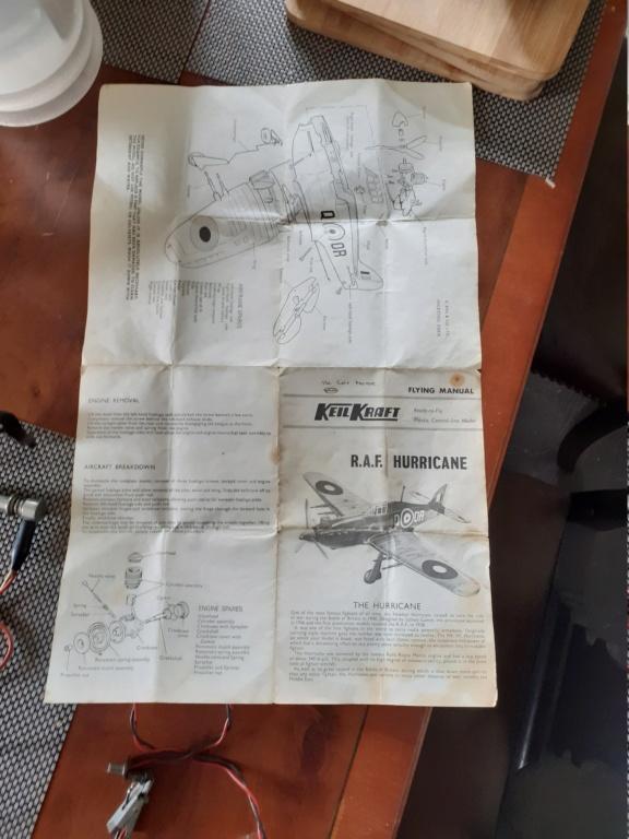 (Another) Keil Kraft Hurricane Rebuild 20210419