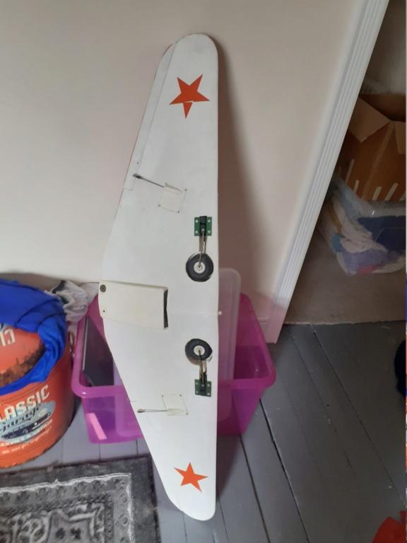 Remote Control Russian(?) Plane 20210433