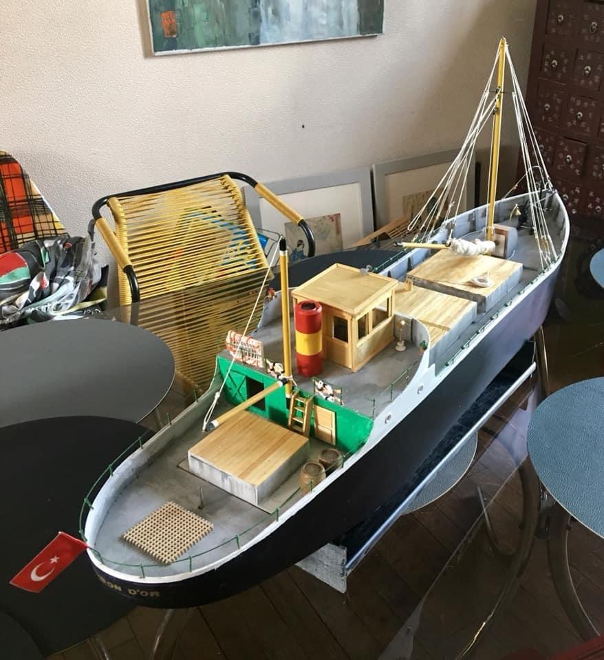 Les bateaux de Tintin par Gilles-Marc 97579710