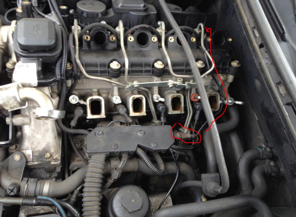 [ BMW e46 320D M47 an 1999 ] mauvaise combustion plus fumée bleu seulement au premier démarrage   Aa10