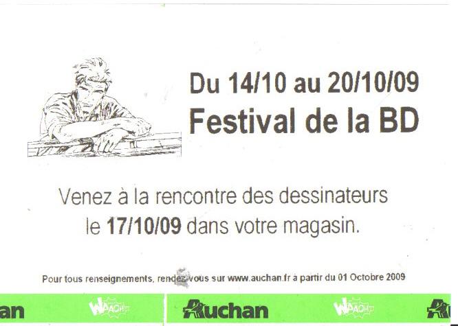 Festival de la BD chez Auchan Bd110