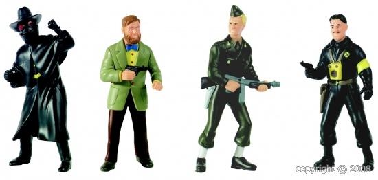 "Figurines ""Blake & Mortimer"" plastoy Copyri10"