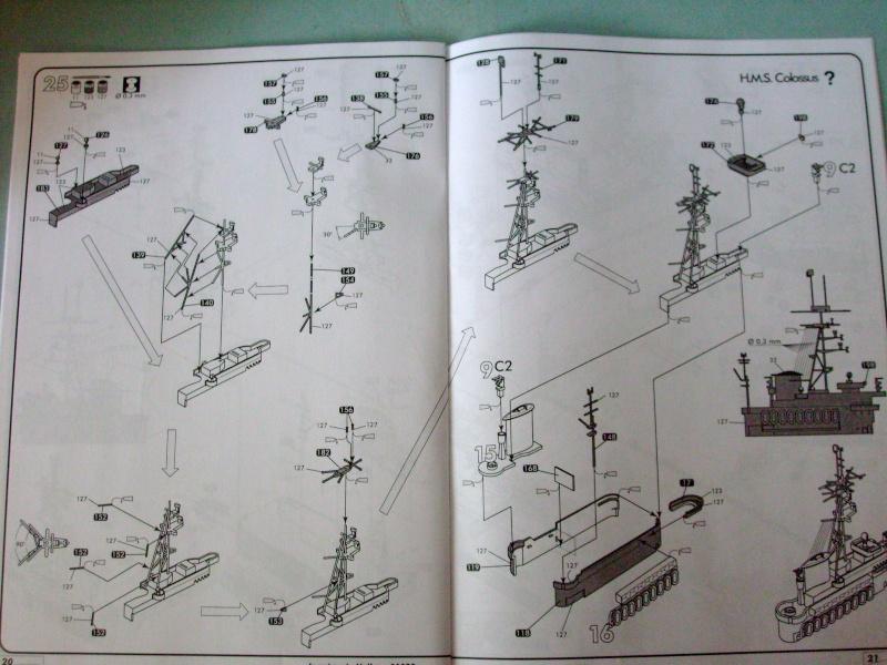 [Heller] Arromanche  / HMS Collossus au 400 eme S7305230