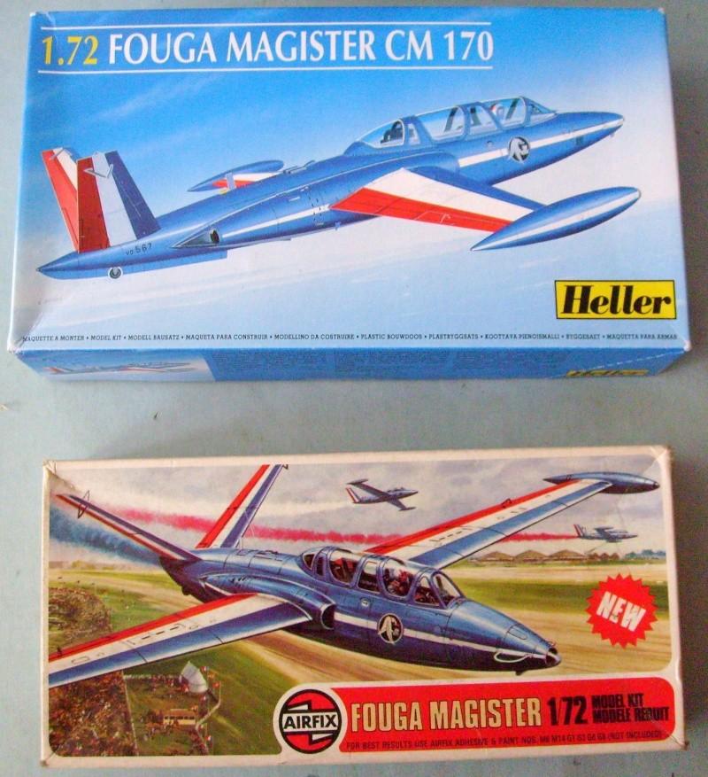 Comparatif FOUGA MAGISTER 1/72ème S7305542
