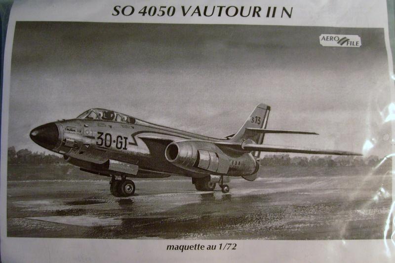[AEROFILE] SNCASO SO 4050 VAUTOUR N/B 1/72ème Réf ? S7306488