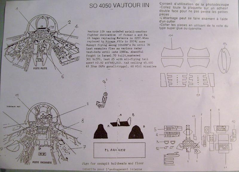 [AEROFILE] SNCASO SO 4050 VAUTOUR N/B 1/72ème Réf ? S7306490