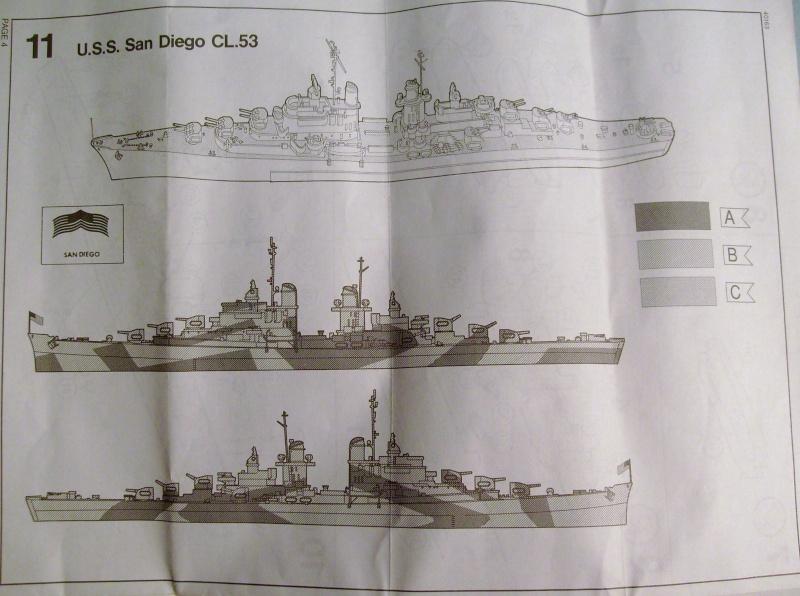 [Matchbox] USS Indianapolis et USS San Diégo au 700eme S7306543