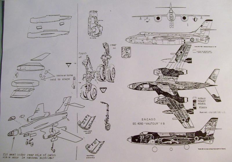[AEROFILE] SNCASO SO 4050 VAUTOUR N/B 1/72ème Réf ? S7306551