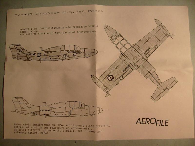 [AEROFILE] MORANE SAULNIER MS 760 PARIS 1/72ème Réf ?  S7306848