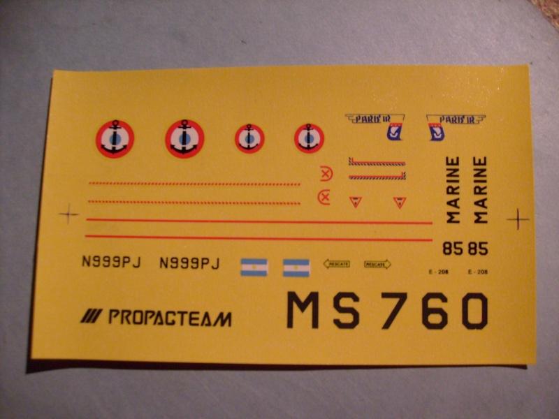 [AEROFILE] MORANE SAULNIER MS 760 PARIS 1/72ème Réf ?  S7306850