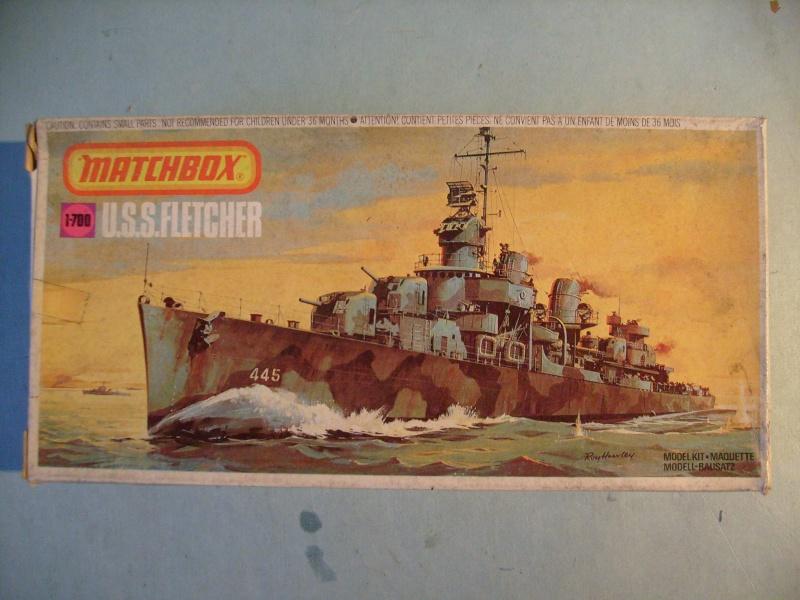 [MATCHBOX] Destroyer DD 445 USS FLETCHER 1/700ème Réf PK63 S7306885