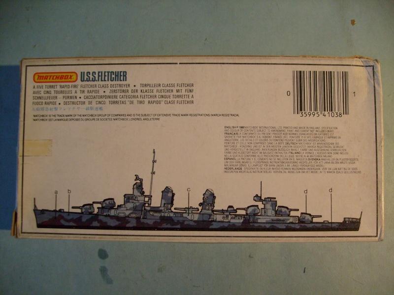 [MATCHBOX] Destroyer DD 445 USS FLETCHER 1/700ème Réf PK63 S7306886