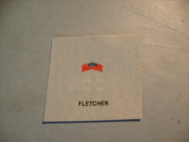 [MATCHBOX] Destroyer DD 445 USS FLETCHER 1/700ème Réf PK63 S7306889