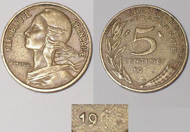 5 centimes Marianne coin de revers bouché. 5_cent10