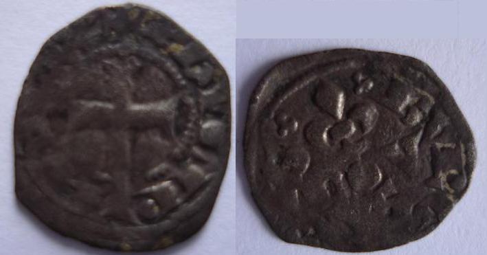 Obole ou maille bourgeoise pour Philippe IV le bel. Philip10