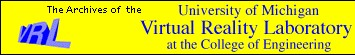 University of Michigan Virtual Reality Laboratory Vrlogo10