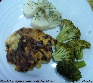 Escalopes de poulet simplissime au parmesan P1100112