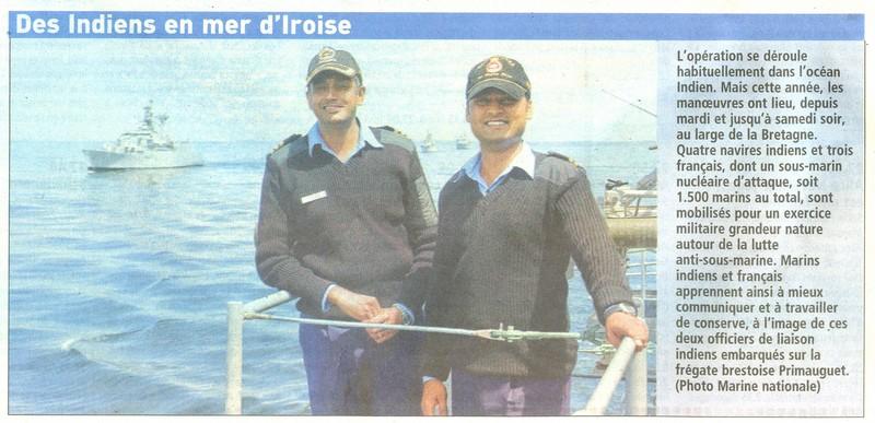 brest - [Les ports militaires de métropole] Port de Brest - TOME 1 - Page 2 Indien10