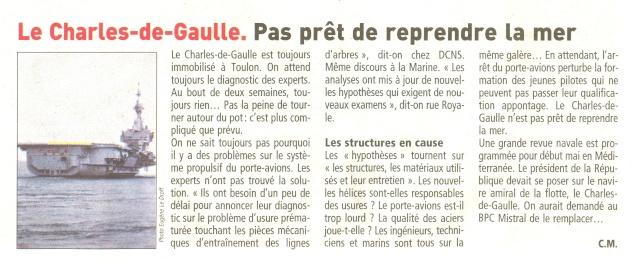 [ Porte-Avions Nucléaire ] Charles de Gaulle Tome 1 - Page 31 Numari20