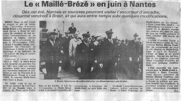 Le MAILLE-BREZE (ex escorteur d'escadre devenu Musée) Maille11