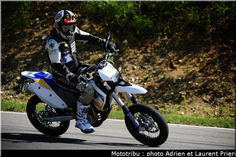 Test de l'Husaberg FS 570 (supermoto) 2010 00812
