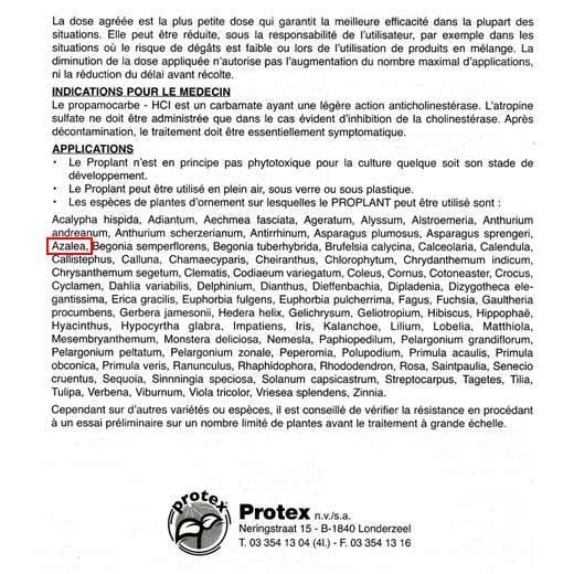 EAU DE PLUIE Propla17