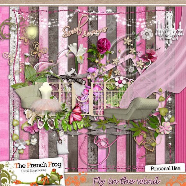 Fly in the wind (marron rose) sorti Previe16