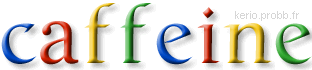 Tester Google Caffeine Caffe10