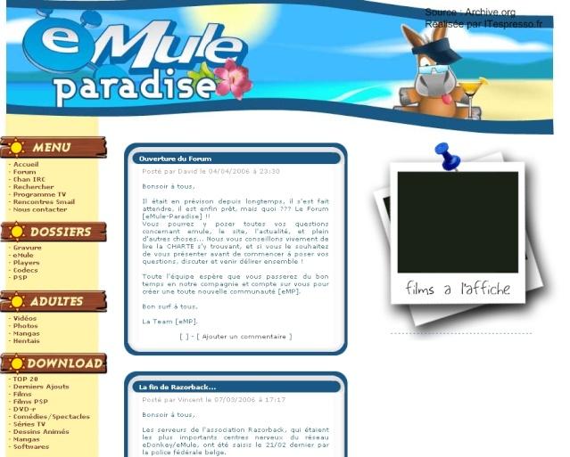 Le webmestre du site emule-paradise.com devant la justice Emule_11