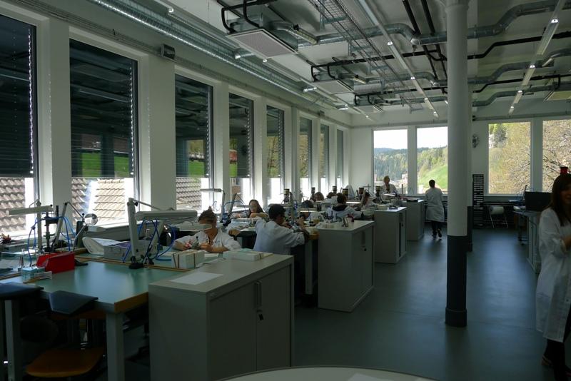 Compte rendu de la visite de la manufacture Zénith  P1040217
