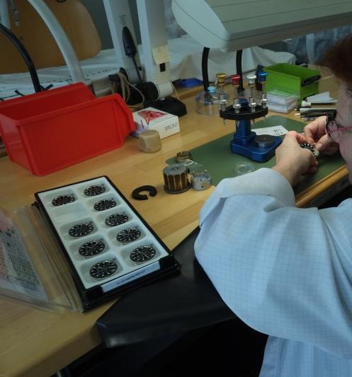 Compte rendu de la visite de la manufacture Zénith  T210