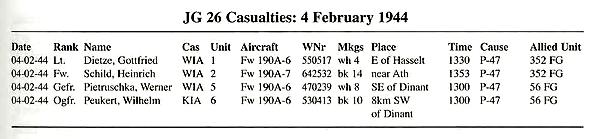Guerre aérienne à Cousolre Jg26-210
