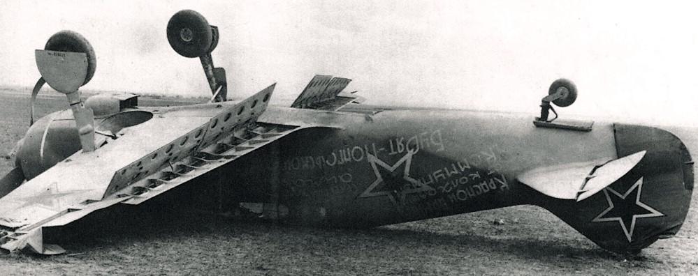 Les couleurs d'un La-5 FN en juillet 43.... La5fz810
