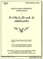 """Republic P-47D """"Thunderbolt"""" P47d-m10"""