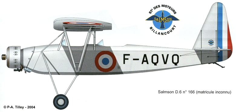 "Aviation Populaire - Salmson D6 ""Cri-cri"" Salmso10"