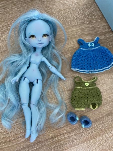[VDS] Depths dolls : Deilf humaine bleue LE 8b8d9510