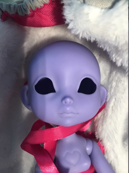 [v] Poulpy purple blank (vendue en layaway) Img_1713