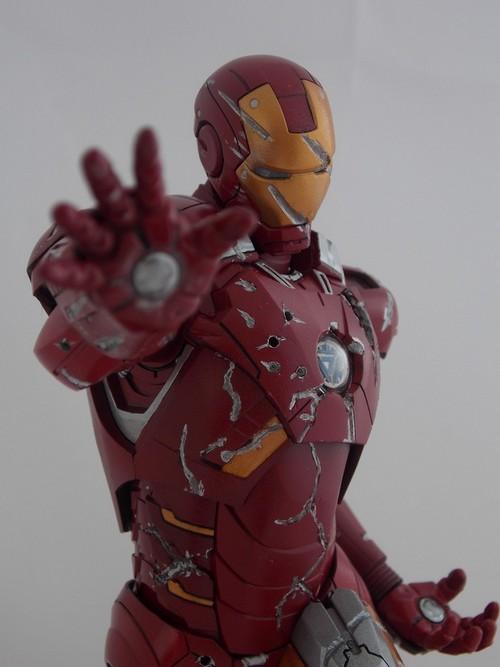 Iron Man Battle Damaged by Jonas Dscn1216