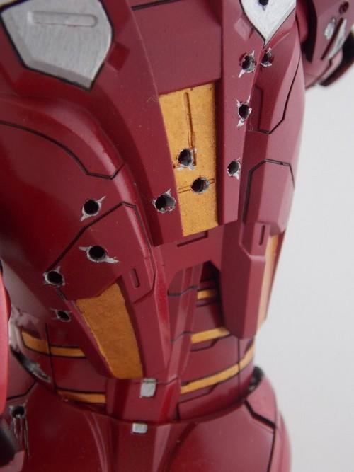 Iron Man Battle Damaged by Jonas Dscn1226