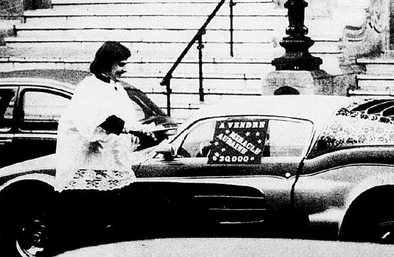 La Mustang 1967 modifié par Xavier Miron de Montréal Dec70m10
