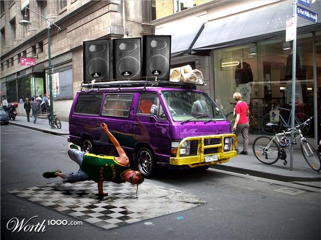 Blue van.... 11541510