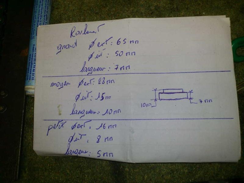 [Tutorial] Sustitucion Rodamientos N.E.U.F. 1110