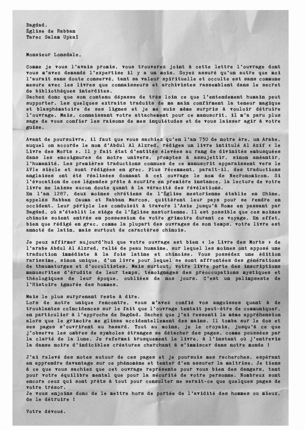 Les 5 Supplices - résumé des parties Adj04-11
