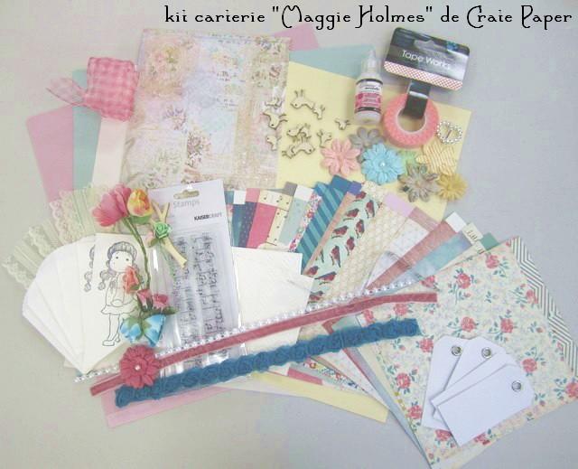 "Kit carterie ""Maggie Holmes""... Kit_ca10"