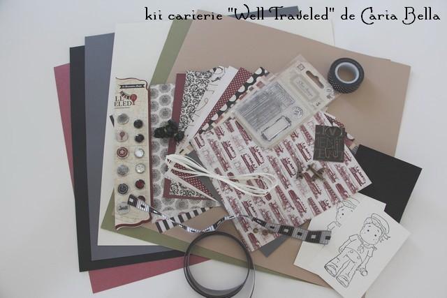 """Kit carterie """"Well Traveled""""... Kit_ca11"""