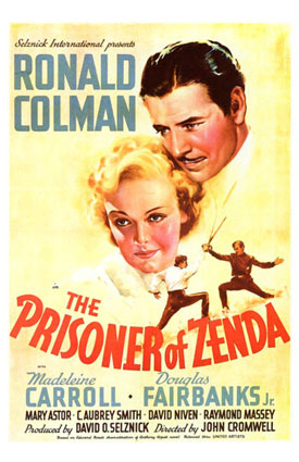 Le prisonnier de Zenda : La trilogie de Anthony Hope The_pr10
