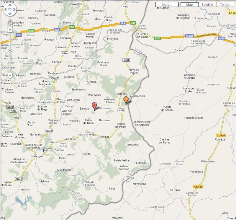 mapa vilar formoso Falco cherrug a caminho de Portugal!!!!!!!!!!!!!!!   Página 2 mapa vilar formoso
