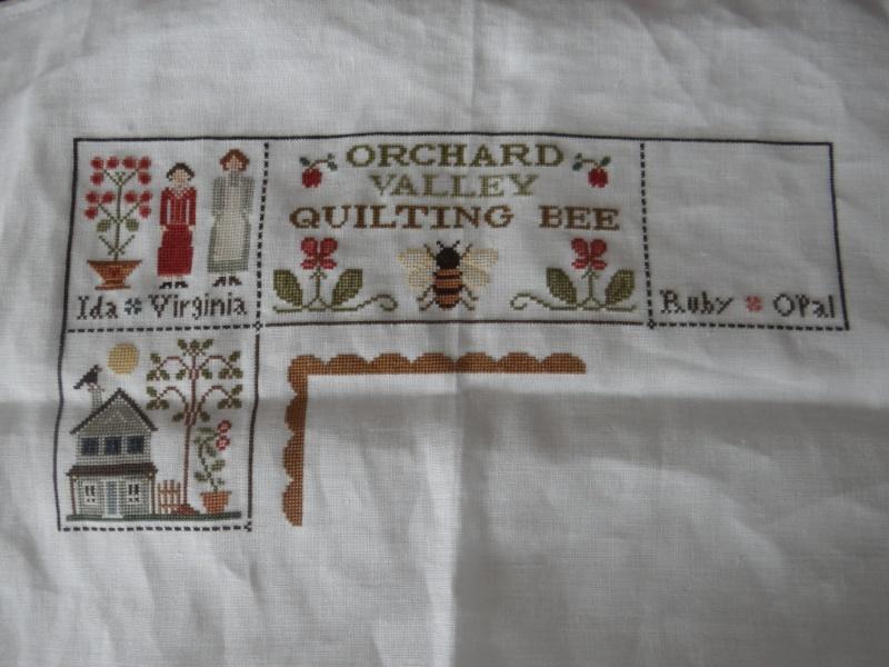 Orchard Valley Quilting Bee de LHN suite le 30 Octobre - Page 23 Dsc02014